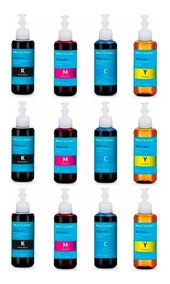 Kit Refil Tinta Impressora Epson 12 Uni 100ml Multilaser