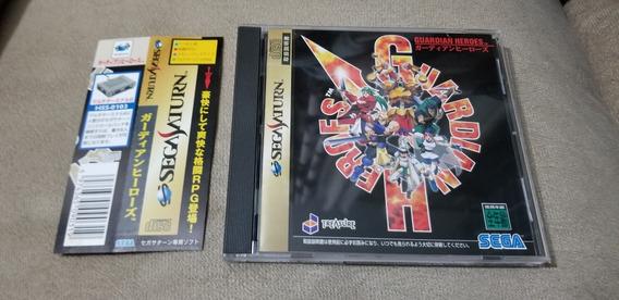 Guardian Heroes Original Japonês Sega Saturn.