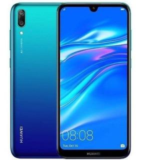 Huawei Y7 2019 32 Gb 4g Lte Azul 12 Cuotas - Prophone
