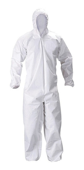 Mameluco Blanco Impermeable Respirable Eagle Tipo Tyvek