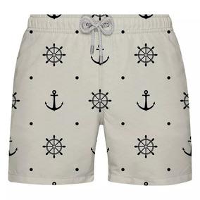 Shorts De Praia Ancora - Exclusivo Verão Citiz - Limitado