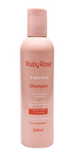Shampoo Controle Oleosidade Argila Rosa Ruby Rose