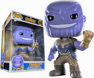Funko Pop! Marvel #308 Infinity War Thanos 10 Excl Nortoys