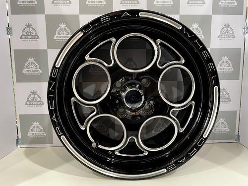 Imagem 1 de 4 de Jogo Roda Weld C10 Aro 15 4x100 - Magnum / Racing / Turbo