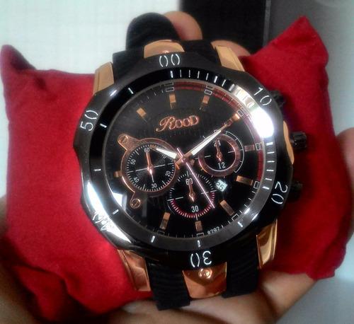 Relógio Masculino Feminino Analogico Dourado Ouro Rose Rood