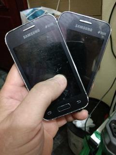 Lote 4 Celulares Samsung Young Smg130bu 12/18 Ler Descrição