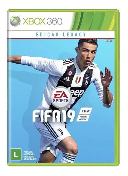 Fifa 19 - Xbox 360 Mídia Física Novo Lacrado Pronta Entrega