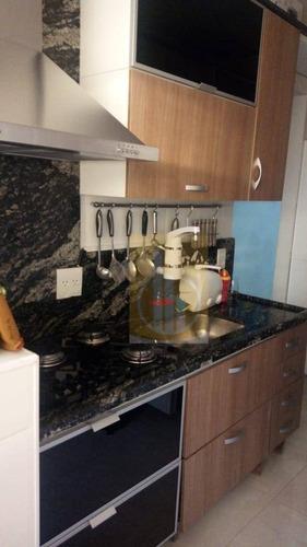 Apartamento Semi Mobiliado Com 2 Dormitórios, 48 M² - Venda Por R$ 200.000 - Jardim São Miguel - Ferraz De Vasconcelos/sp - Ap0086