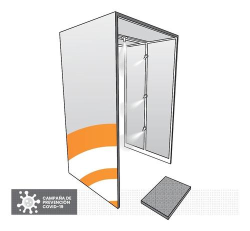 Cabina Túnel De Desinfección Sanitización Con Desinfectante