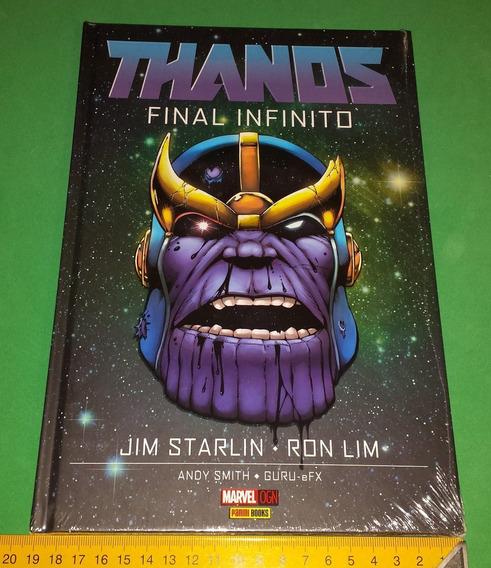 Thanos Final Infinito Em Português Novo Infinity Gems Hq