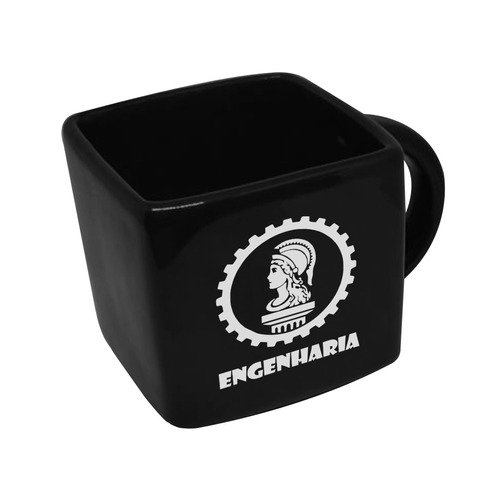Caneca Cubo Quadrada Profissao Engenharia 200ml