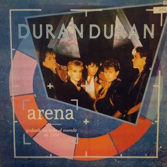 Duran Duran Arena Con Sobre Int Tapa Y Vinilo 9