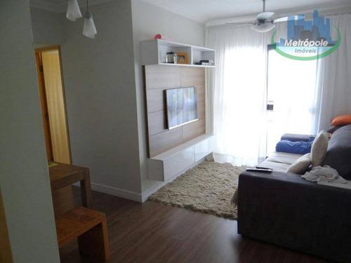 Apartamento Com 3 Dormitórios À Venda Por R$ 340.000 - Gopoúva - Guarulhos/sp - Ap0882