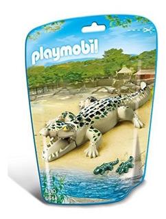 Playmobila® Cocodrilo Con Beba©s