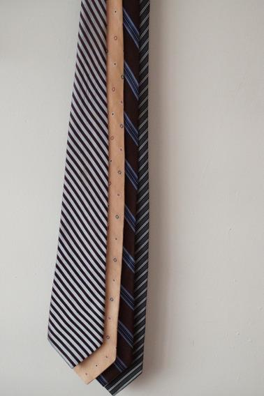 4 Corbatas Calvin Klein, Paul Fedrik, Iziono Varios Colores