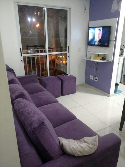 Apartamento 46 Mtrs 2 Quartos Com Elevador Porcelanato De 1°