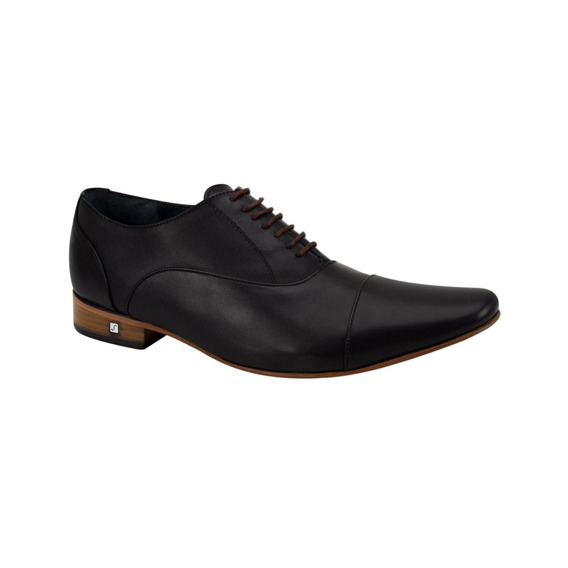 Zapato De Vestir Schatz 4045 Id 105228 Negro Hombre