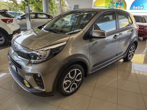Kia Picanto Xline 1.25l At. 2021 0 Km.