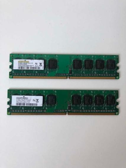 Memoria 1gb Ddr2 667 Markvision 2x512