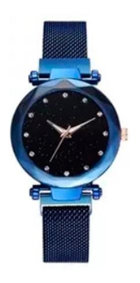 Reloj Vintage Dama Extensible Magnético Colores Moda