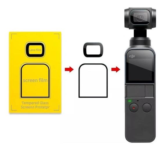 Películas Glass Display E Câmera - Dji Osmo Pocket Top