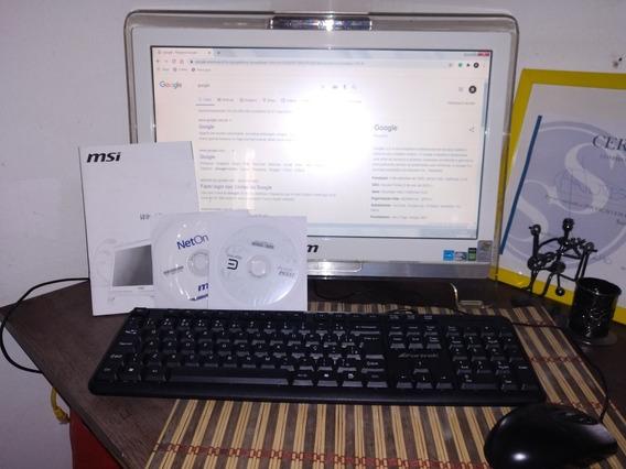Computador Embutido Msi Wind Top Ae1900 Tela Touchcreen
