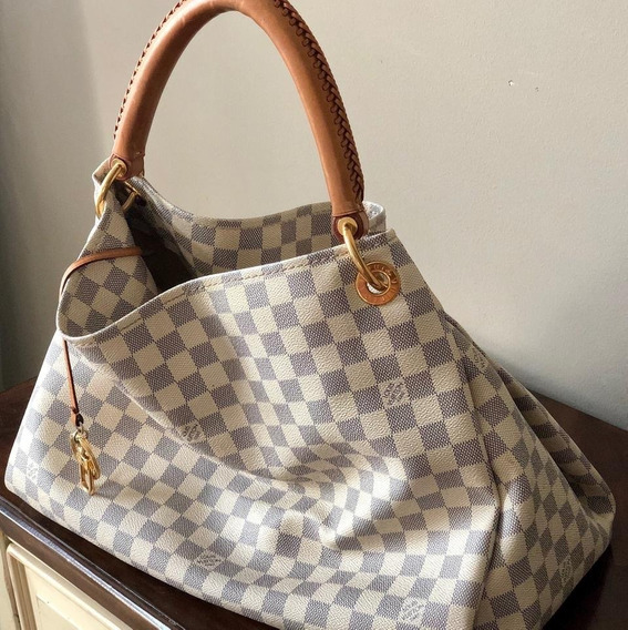 Louis Vuitton Bolsa Artsy Azur Mm 100% Original