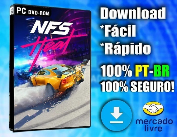Need For Speed Heat Pc - 100% Pt-br - Midia Digital!