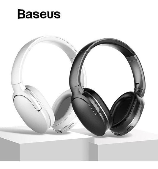 Fone De Ouvido Bluetooth Baseus Encok D02 25 Horas De Música