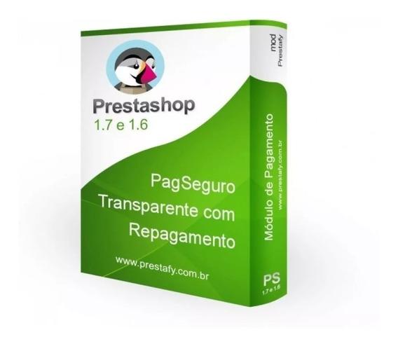 Módulo Pagseguro Transparente Para Prestashop 1.7