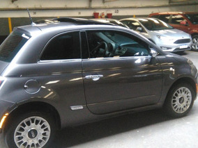 Fiat 500 1.4 Lounge 105cv At Automatico Techo 2015 Gris Full