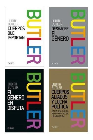 Pack Judith Butler - Género - Feminismo (4 Libros)