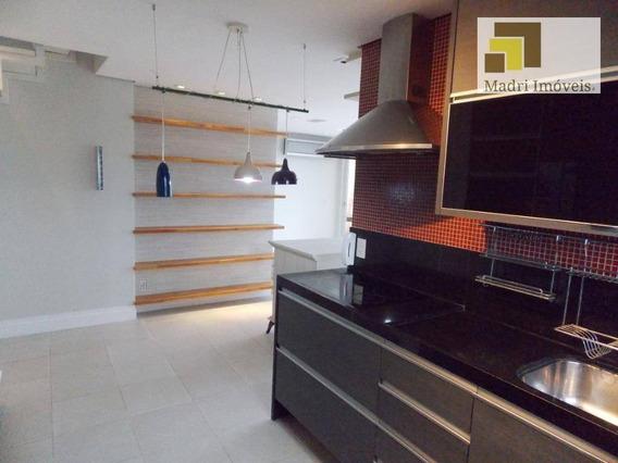 Imobiliária Madri Imóveis Vende Ou Aluga Belíssima Cobertura Duplex. - Ad0043