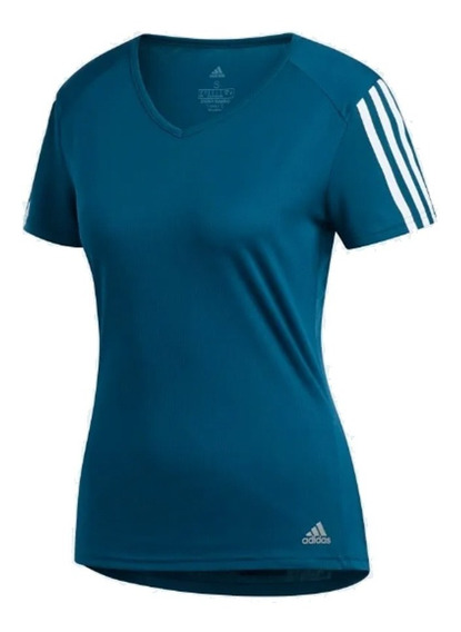 Camiseta adidas Run Tee Feminina - Original