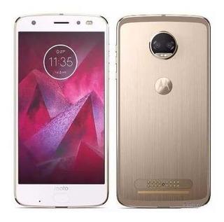 Celular Motorola Moto Z2 Play 64gb Dual Xt1710 Dourado+ Nf