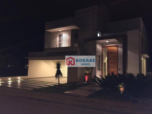 Sobrado À Venda, 450 M² Por R$ 2.000.000,00 - Condomínio Residencial Jaguary - São José Dos Campos/sp - So0823