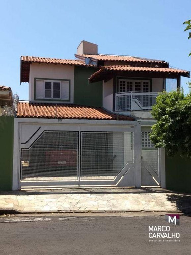 Sobrado Com 2 Dormitórios À Venda, 171 M² Por R$ 780.000,00 - Jardim Tangará - Marília/sp - So0012