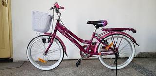 Bicicleta Aurora Ona Rod 20 Nena Como Nueva