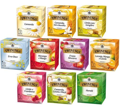 Chá Twinings 10 Caixas 100 Sachês