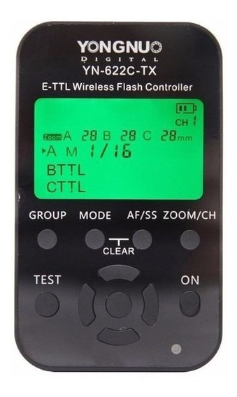 Controlador Ttl Yongnuo Yn 622 Tx Para Canon Alta Velocidad