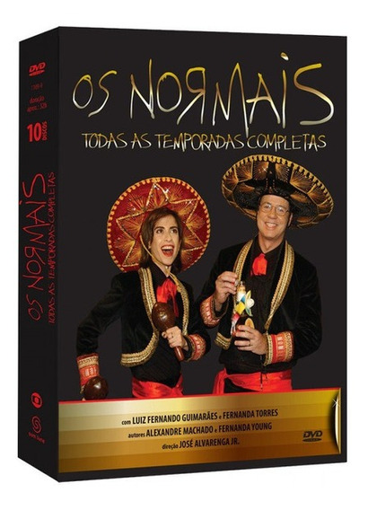 Box Os Normais - Todas As Temporadas Completas 10 Dvds
