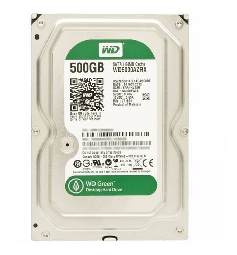 Discos Duros 500gb Pc Y Dvr Seagate Western Digital Hitachi