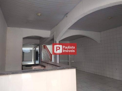 Casa Comercial Ampla Para Alugar - Belenzinho - São Paulo/sp - Ca3019