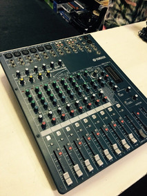 Mesa De Som 12 Canais Yamaha Mg124cx - Loja Jarbas Instrum.