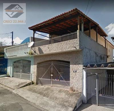 Sobrado Residencial À Venda, Parque Assunção, Taboão Da Serra. - So0858