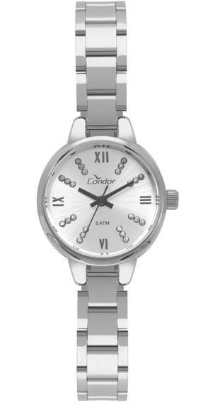Relógio Condor Feminino Mini Prata Original Co2035kyh/3k