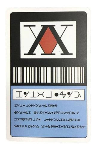 Tarjeta Licencia De Cazador Hunter X Hunter Gon Freecss