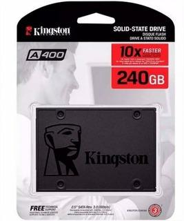 Disco Ssd Kingston 240gb A400 Sata3. Aj Hogar.