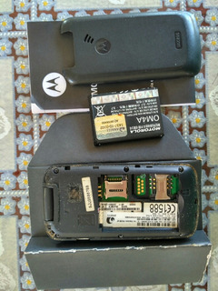 Celular Motorola Wx295 (placa Mae,carcaça,teclado,bateria)