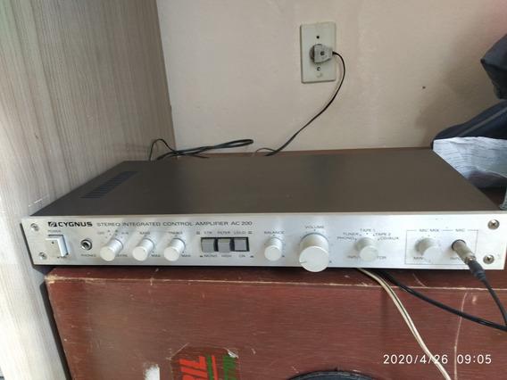 Amplificador Stereo Integrated Ac200 Cignus